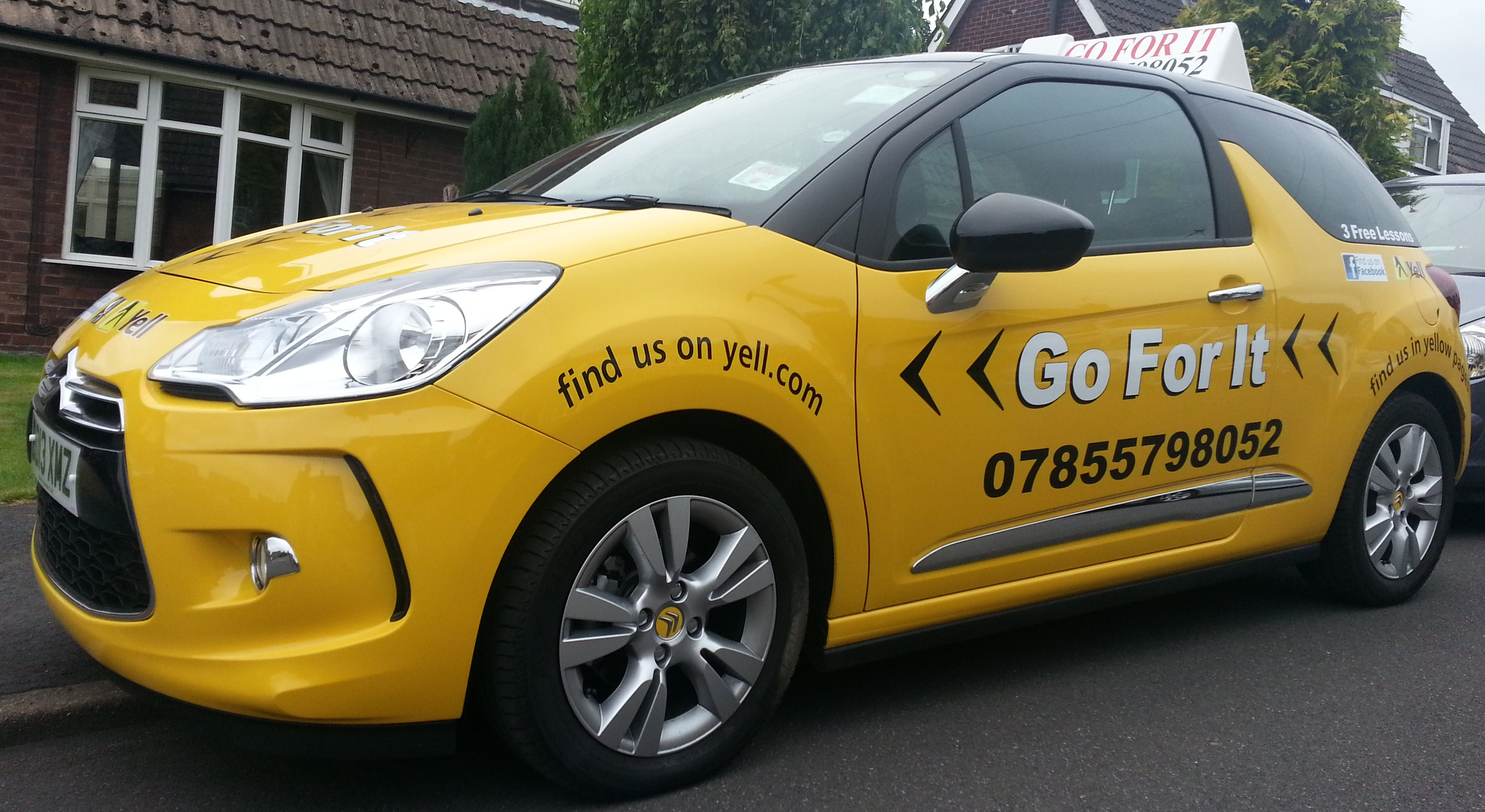 Automatic Driving Lessons in Dinnington