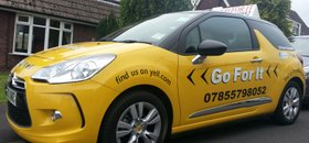 Call Go For It for Driving Lessons in Sheffield