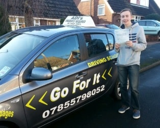 Go For It Driving Lessons in Broomhall
