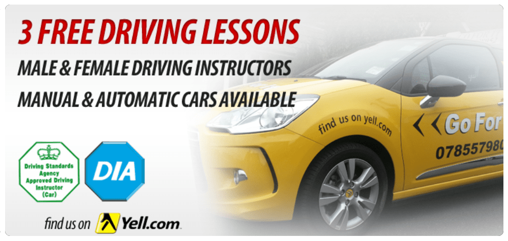 Driving Lessons Gift Vouchers in Sheffield, Barnsley, Dronfield, Rotherham, Chesterfield