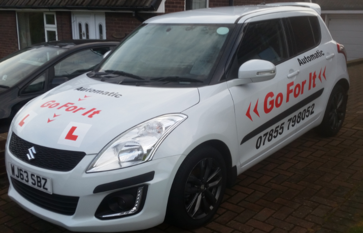 Go For It Automatic Driving Lessons in Whitwell
